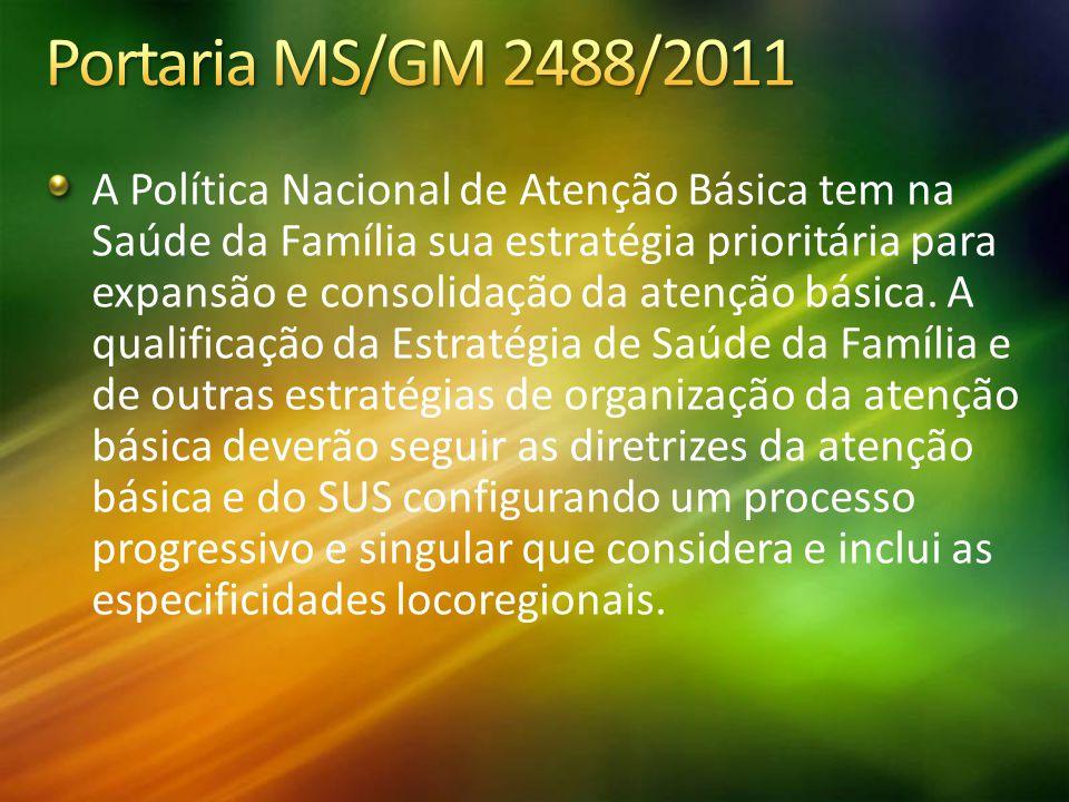 Portaria MS/GM 2488/2011