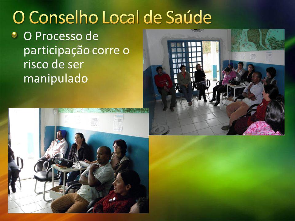 O Conselho Local de Saúde