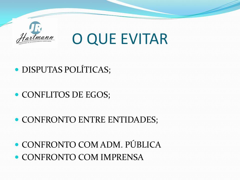 O QUE EVITAR DISPUTAS POLÍTICAS; CONFLITOS DE EGOS;