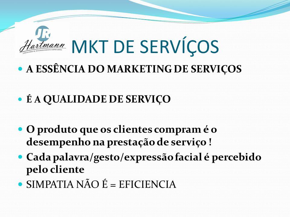 MKT DE SERVÍÇOS A ESSÊNCIA DO MARKETING DE SERVIÇOS