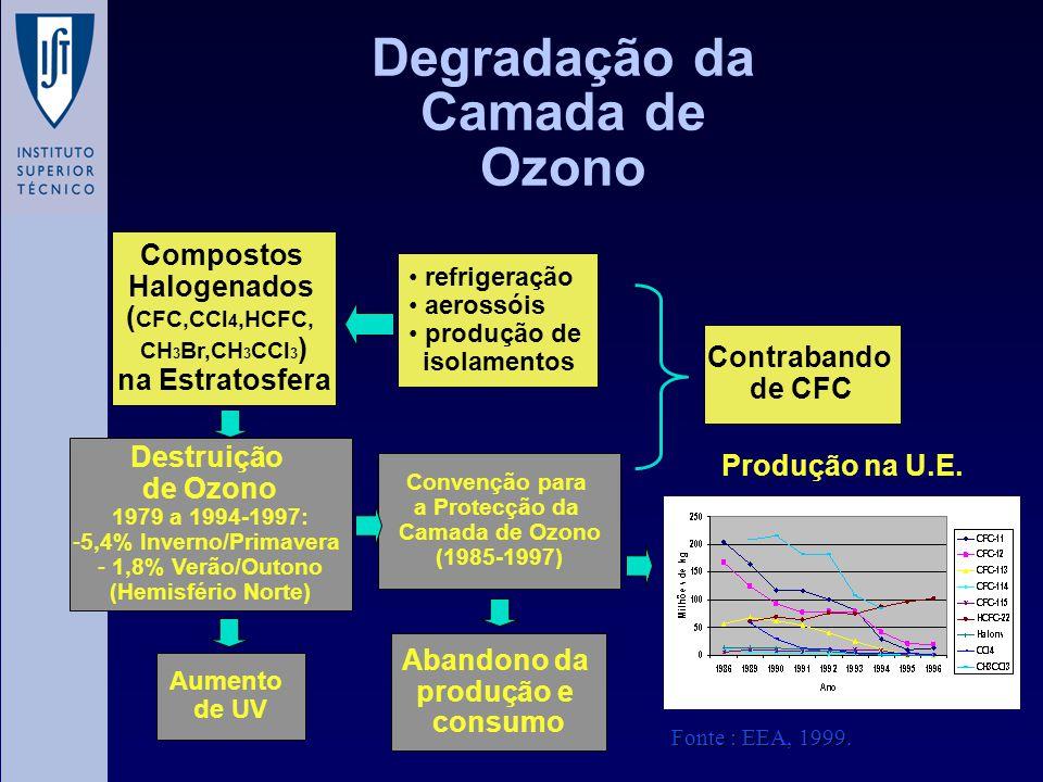 Degradação da Camada de Ozono
