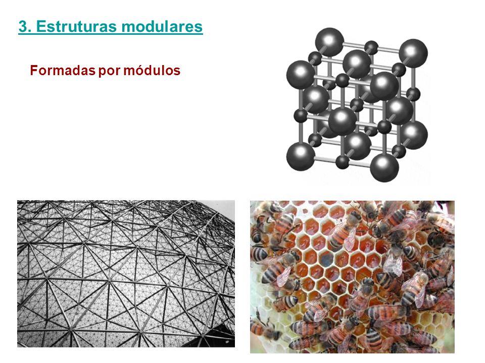 3. Estruturas modulares Formadas por módulos