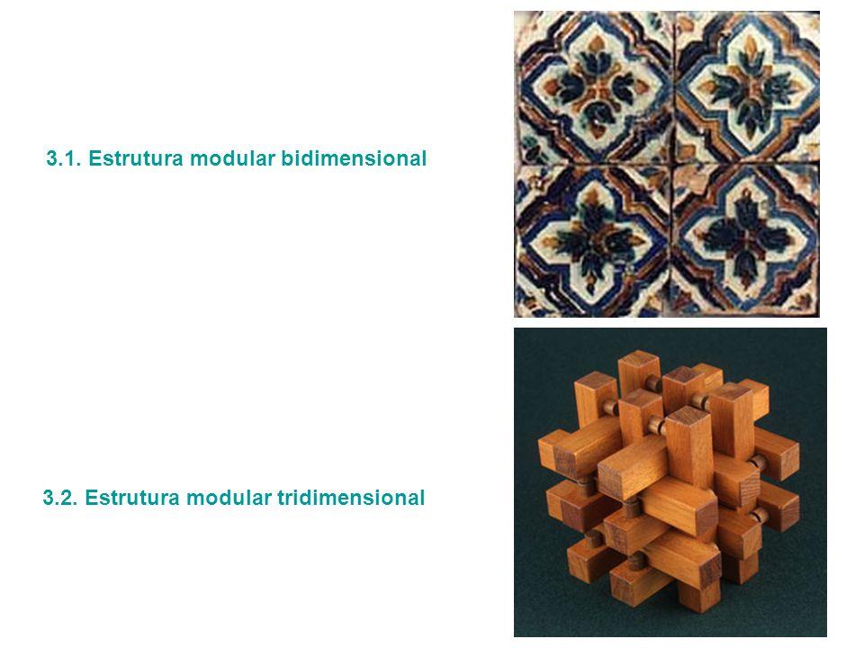 3.2. Estrutura modular tridimensional