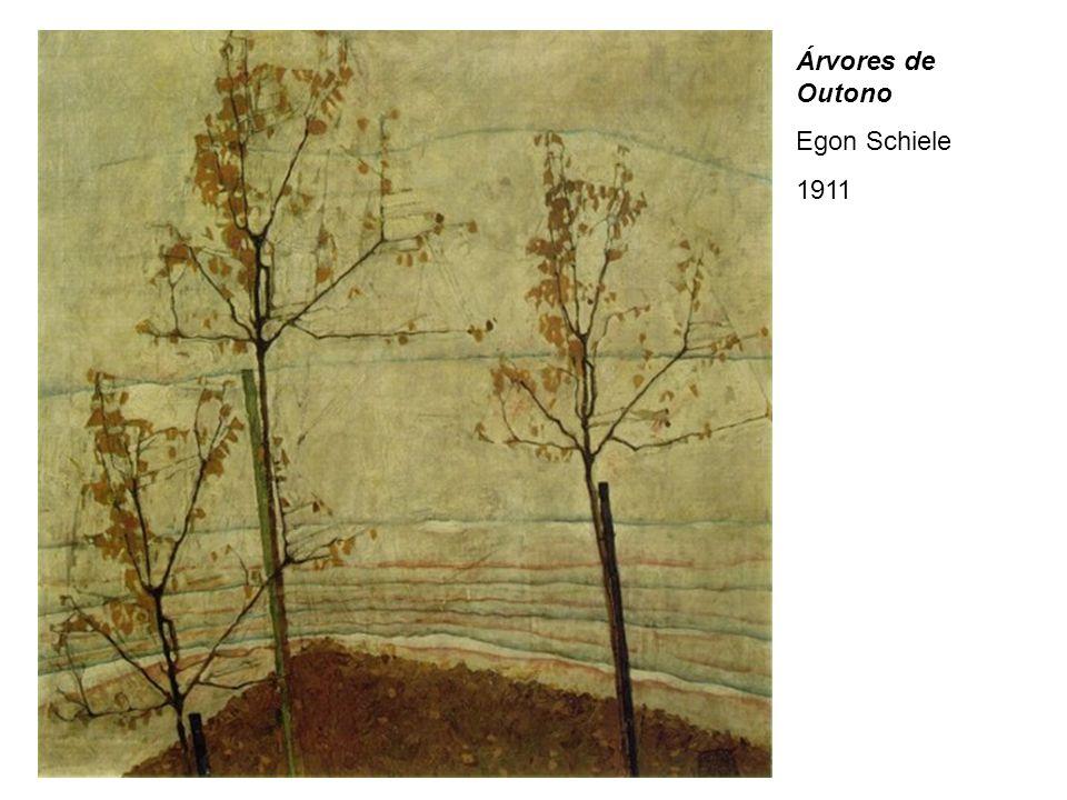 Árvores de Outono Egon Schiele 1911
