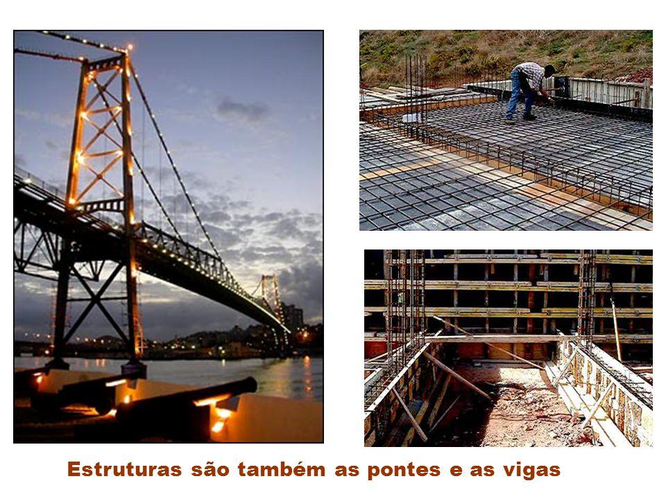 Estruturas são também as pontes e as vigas
