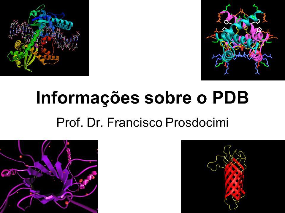 Informações sobre o PDB