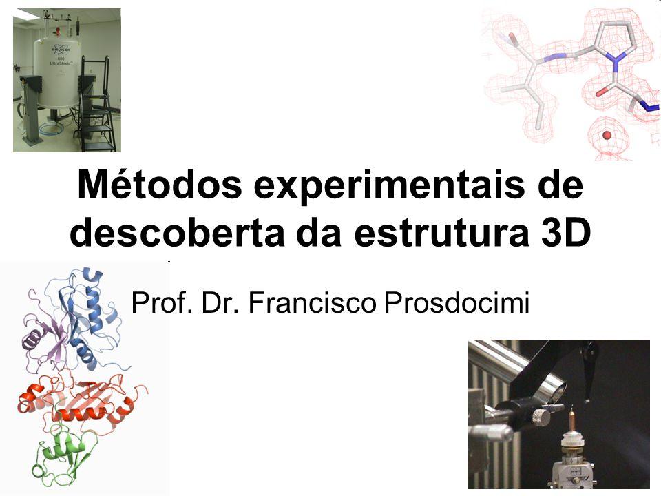 Métodos experimentais de descoberta da estrutura 3D