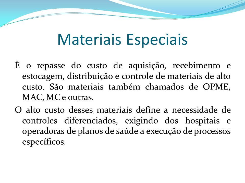 Materiais Especiais