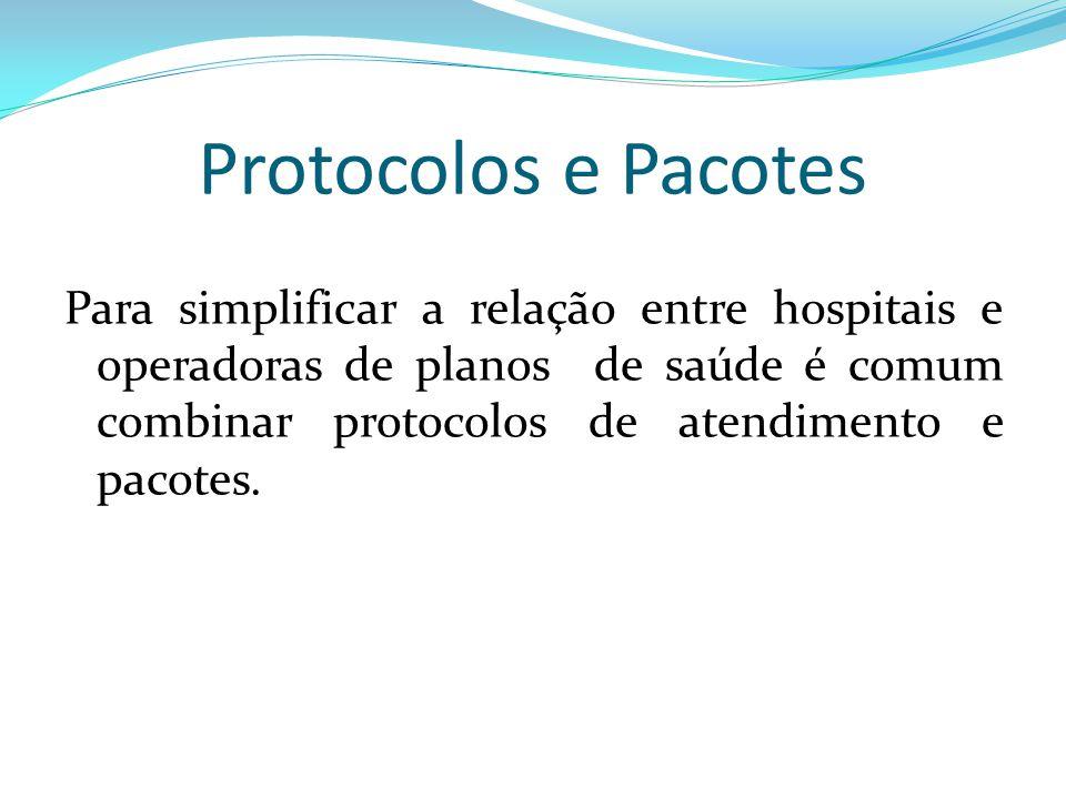 Protocolos e Pacotes