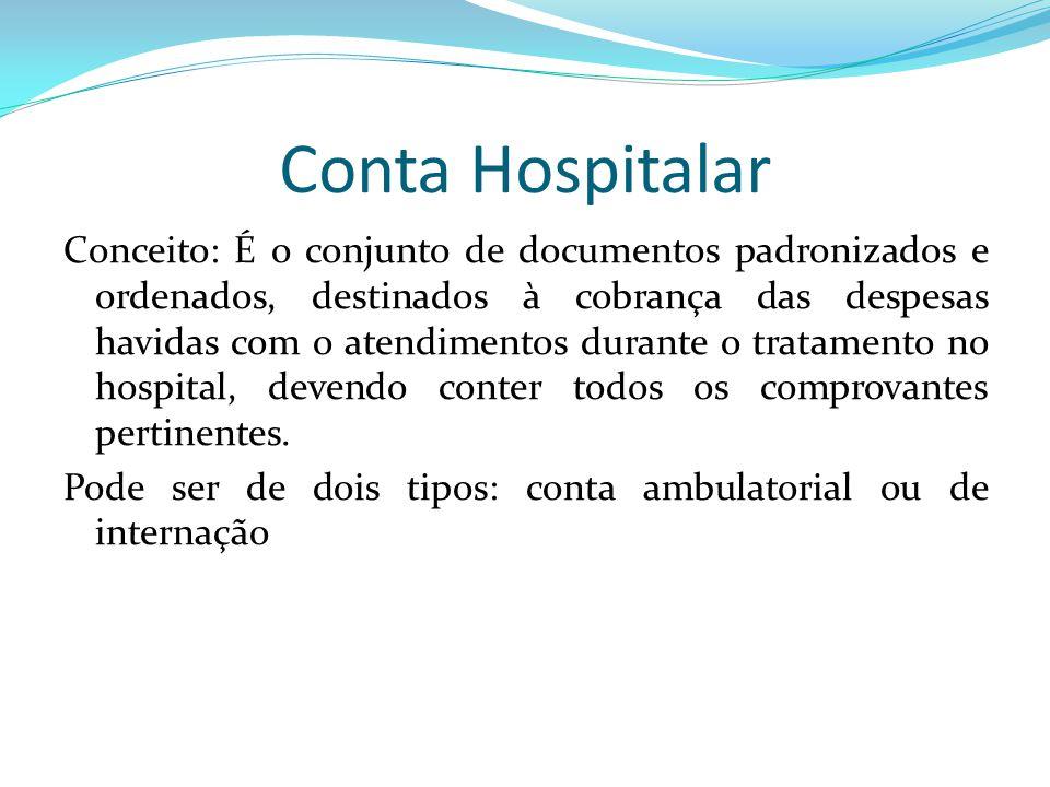Conta Hospitalar