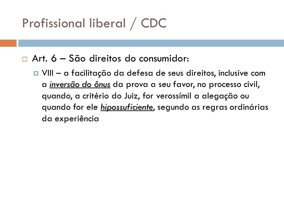 Profissional liberal / CDC