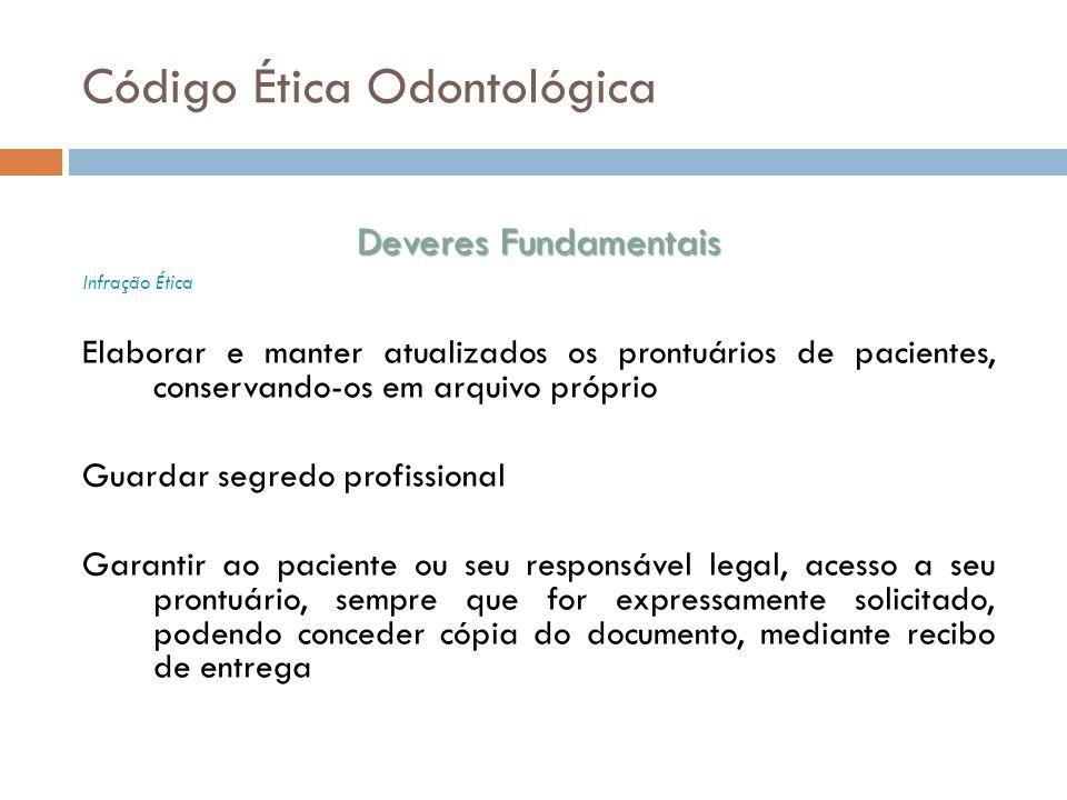Código Ética Odontológica