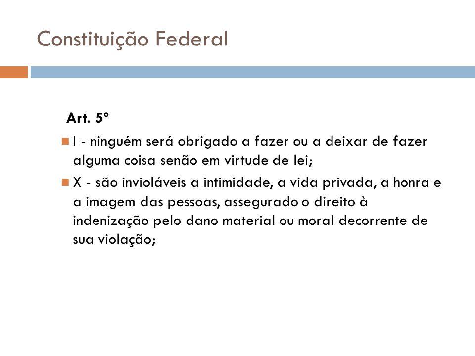 Constituição Federal Art. 5º