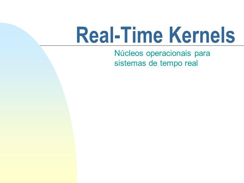 Núcleos operacionais para sistemas de tempo real