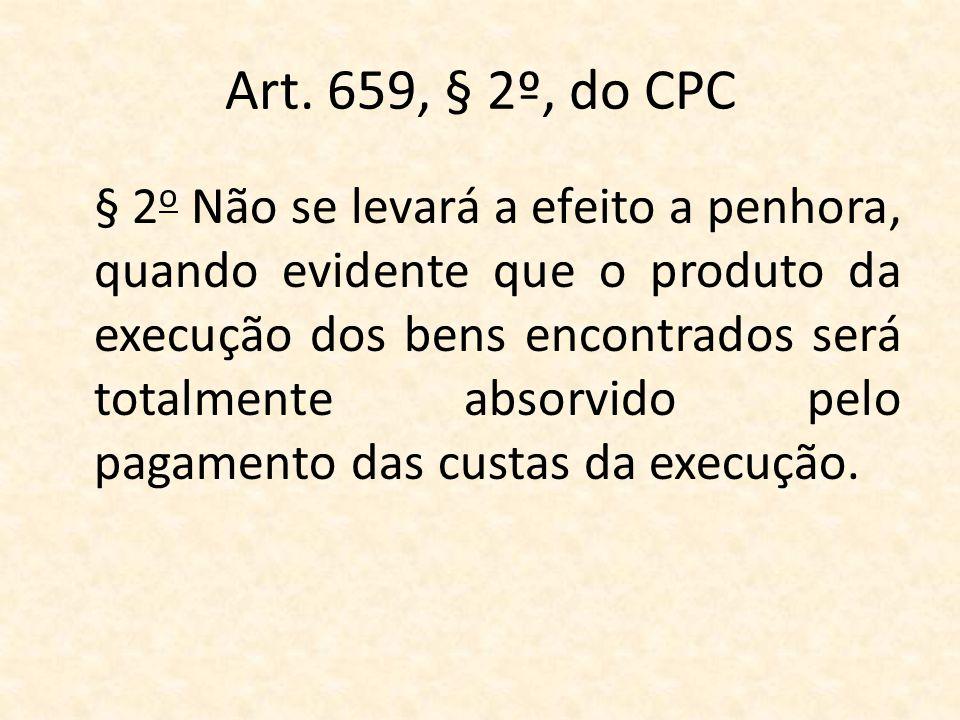 Art. 659, § 2º, do CPC