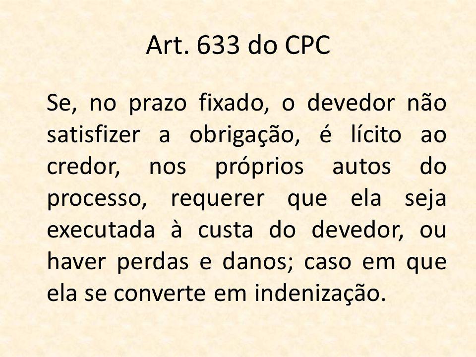 Art. 633 do CPC