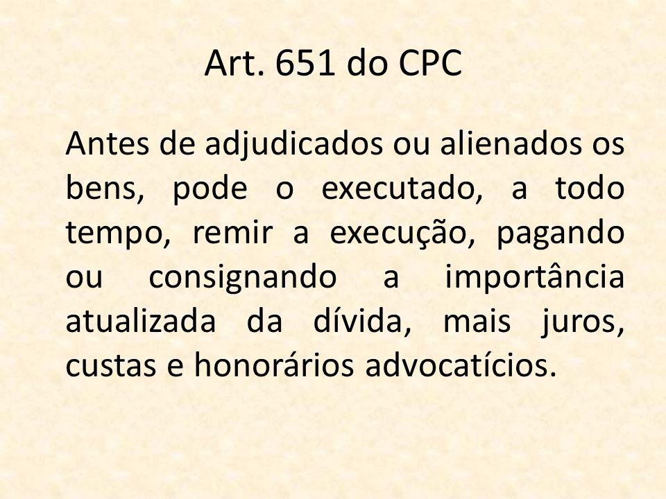 Art. 651 do CPC