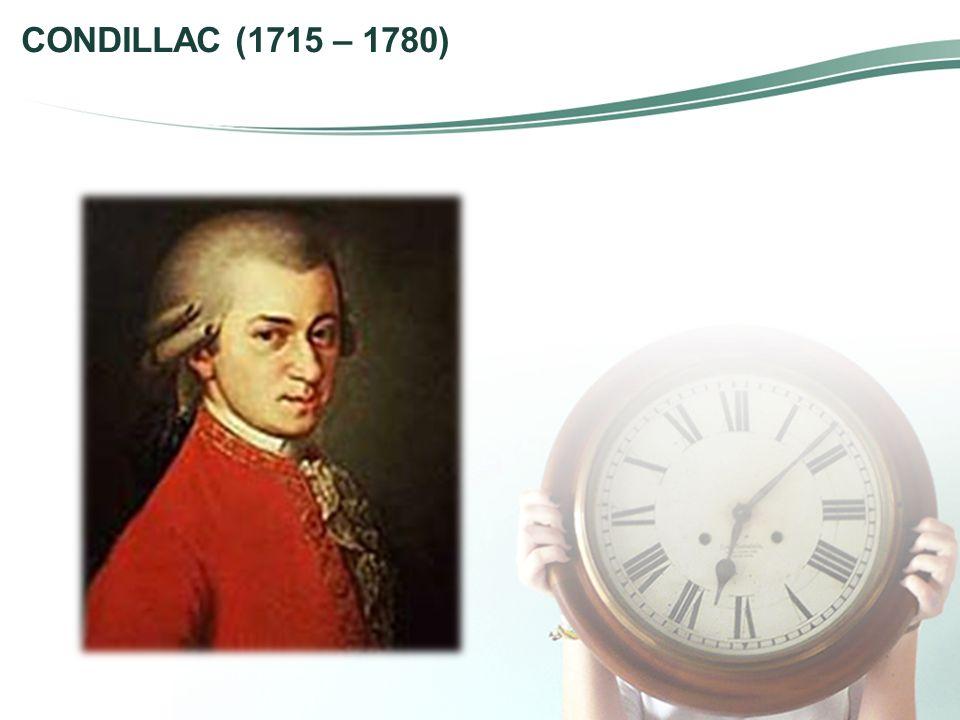 CONDILLAC (1715 – 1780)