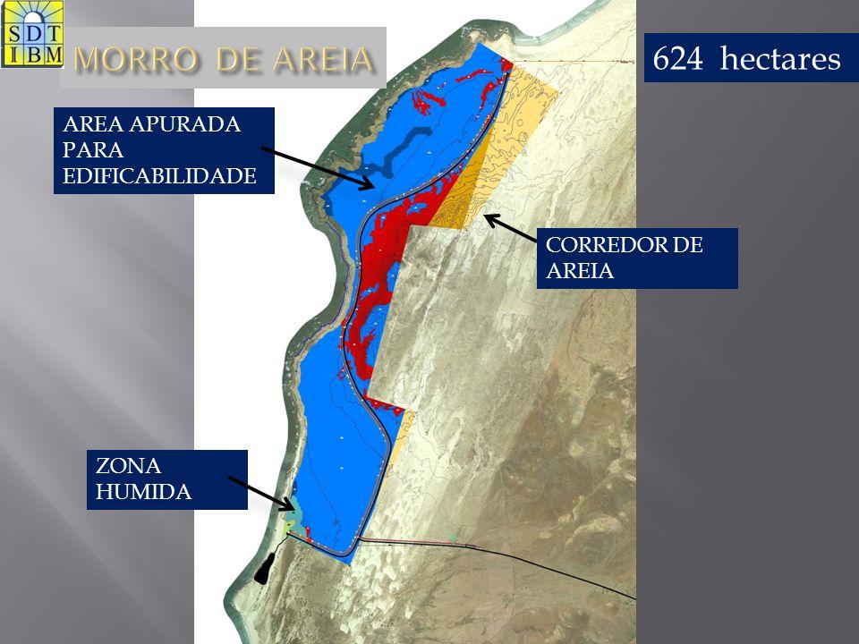 MORRO DE AREIA 624 hectares AREA APURADA PARA EDIFICABILIDADE