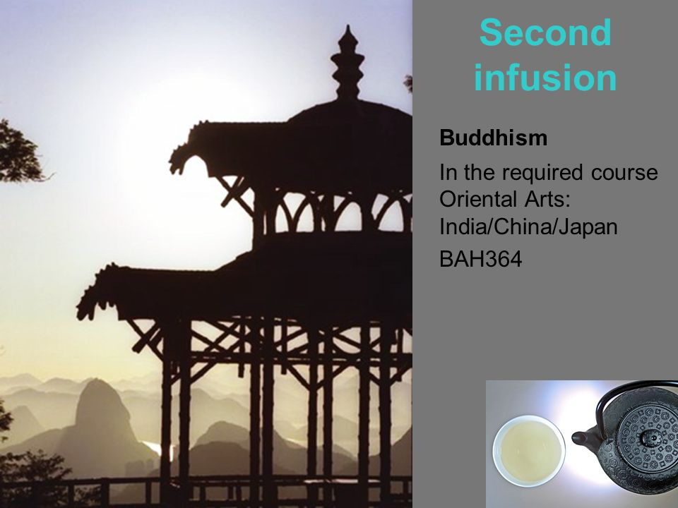 Second infusion Buddhism