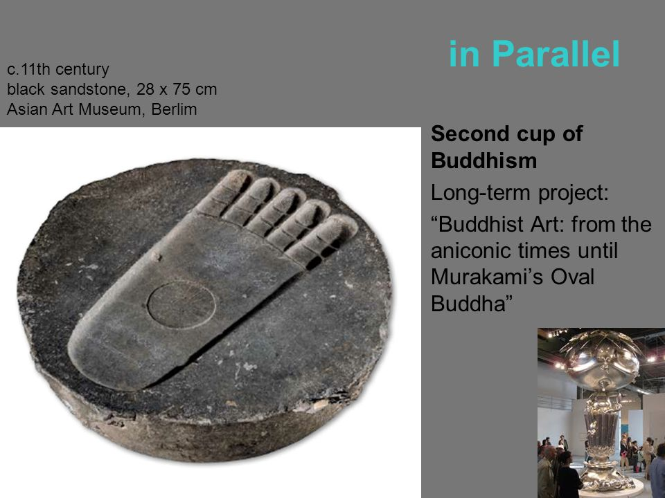 in Parallel Second cup of Buddhism Long-term project: