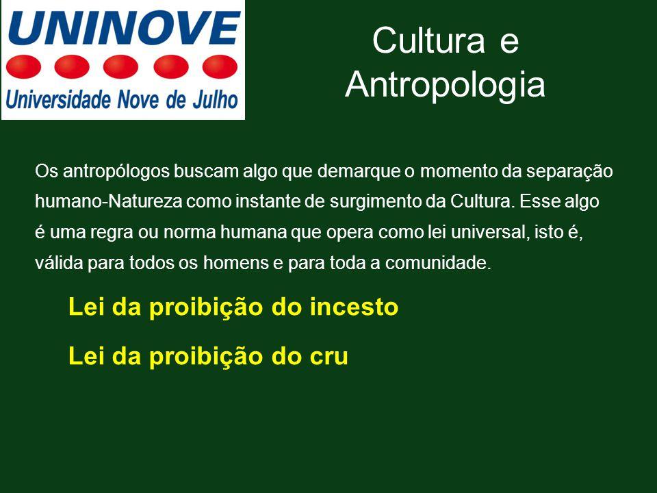 Cultura e Antropologia