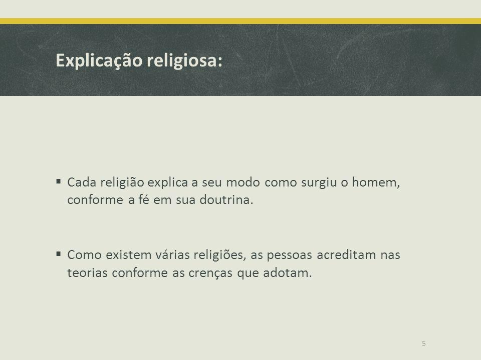 Explicação religiosa: