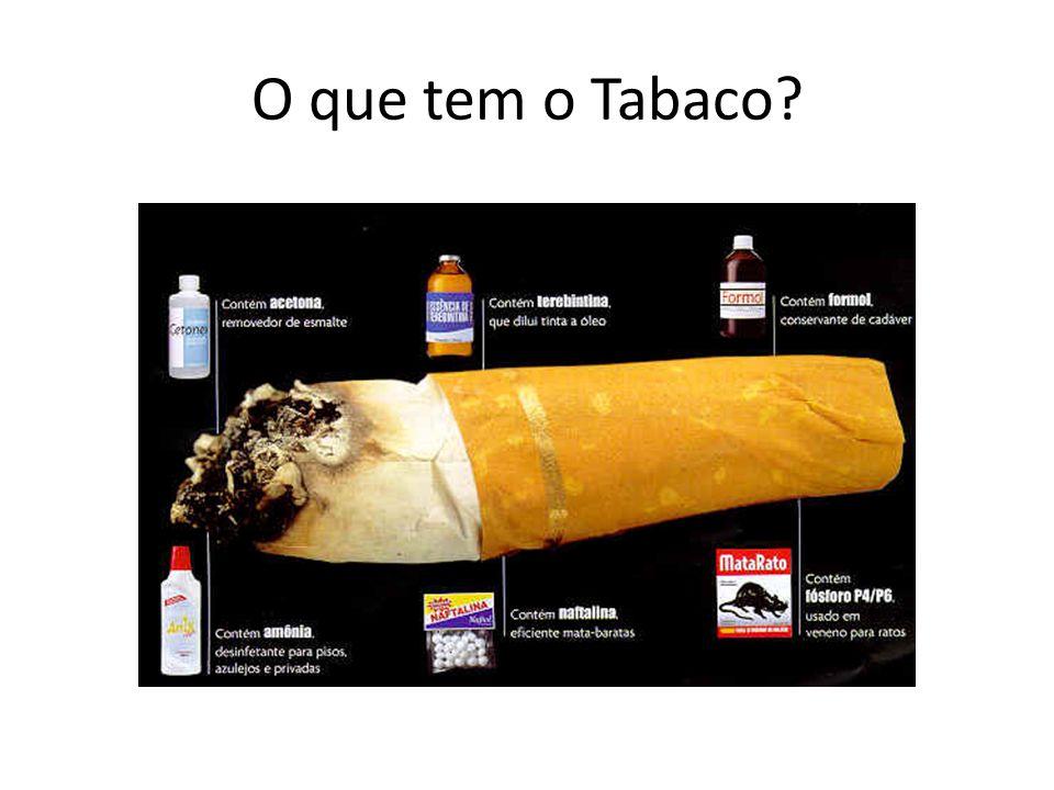 O que tem o Tabaco