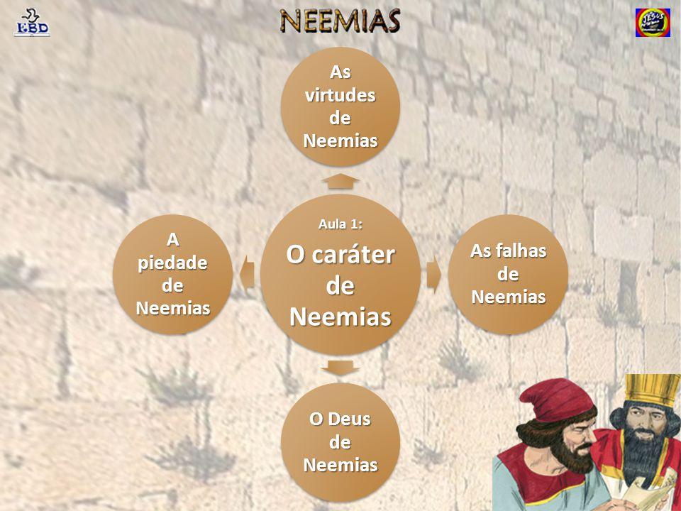 O caráter de Neemias As virtudes de Neemias As falhas de Neemias