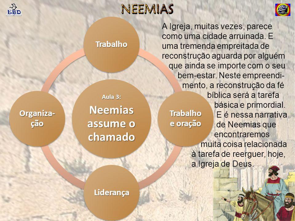 Neemias assume o chamado