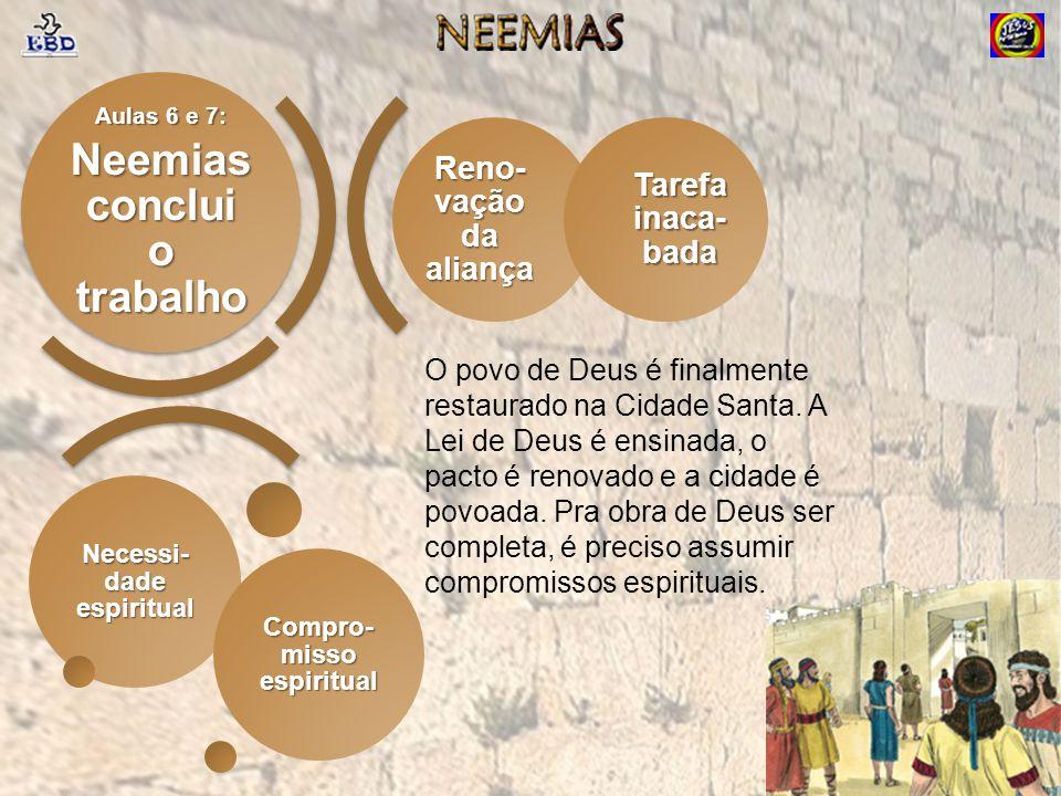 Neemias conclui o trabalho