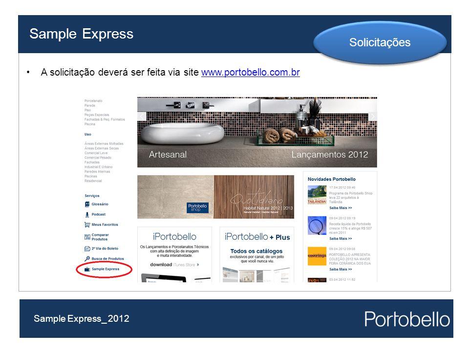 Sample Express Solicitações