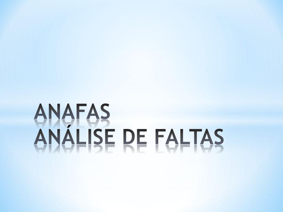 ANAFAS ANÁLISE DE FALTAS
