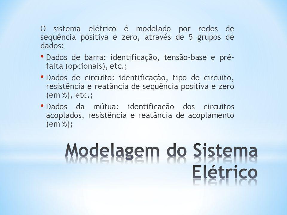 Modelagem do Sistema Elétrico