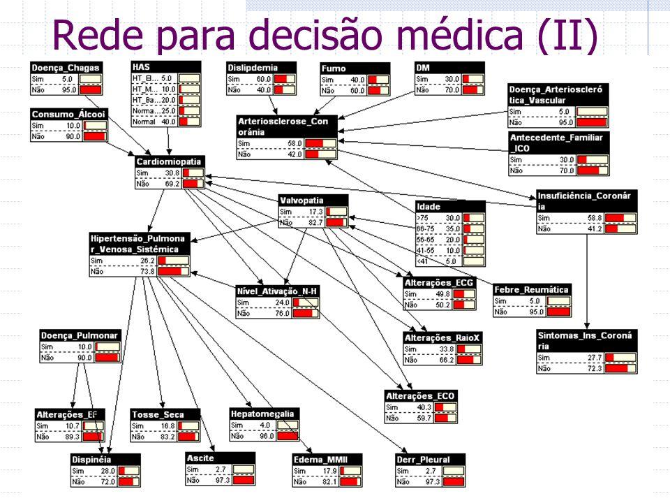 Rede para decisão médica (II)