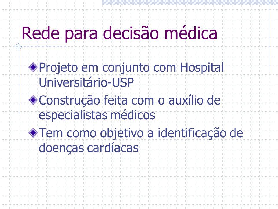 Rede para decisão médica