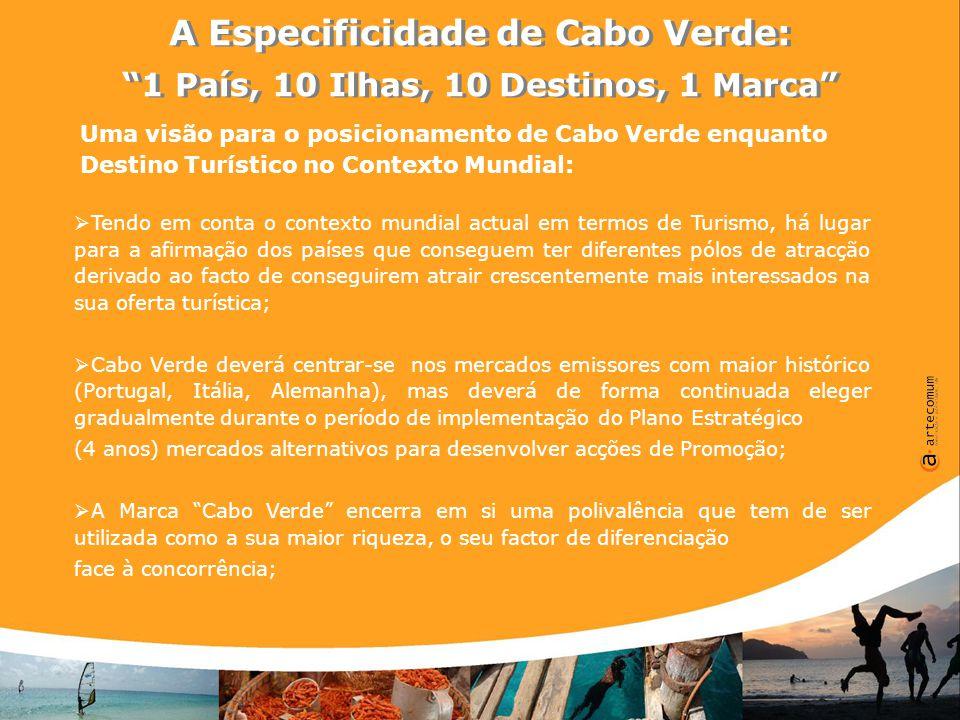A Especificidade de Cabo Verde: