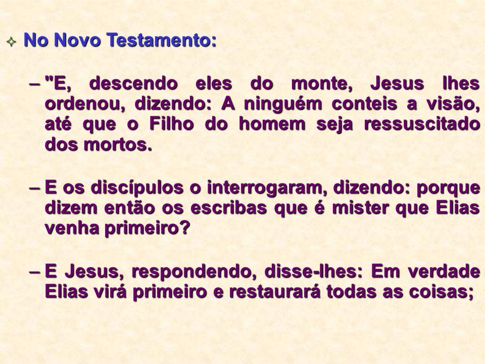 No Novo Testamento: