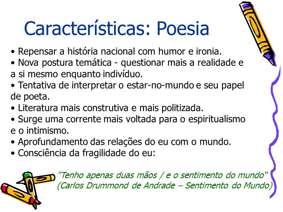 Características: Poesia
