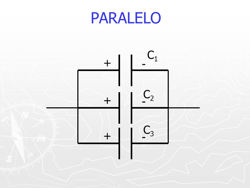 PARALELO + - C1 C2 C3