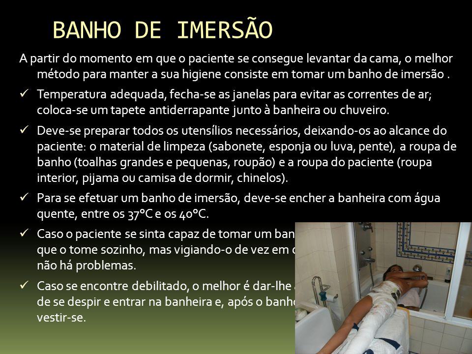 BANHO DE IMERSÃO