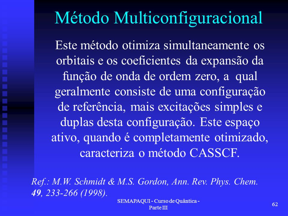 Método Multiconfiguracional