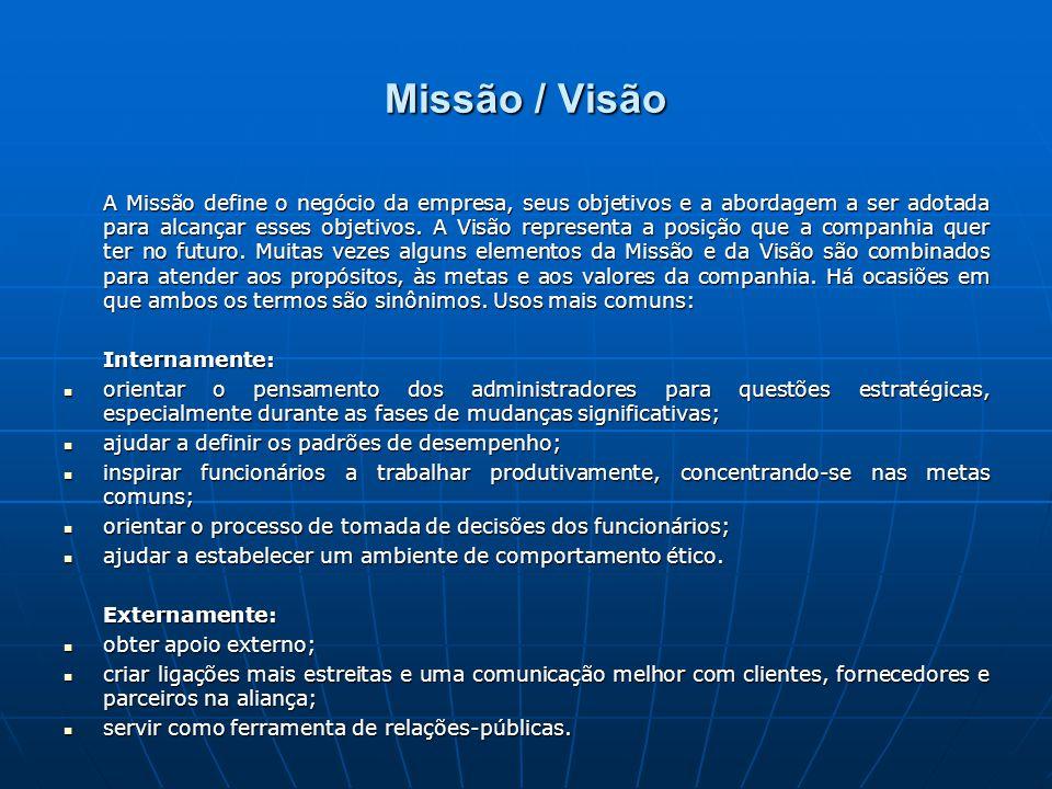 Missão / Visão