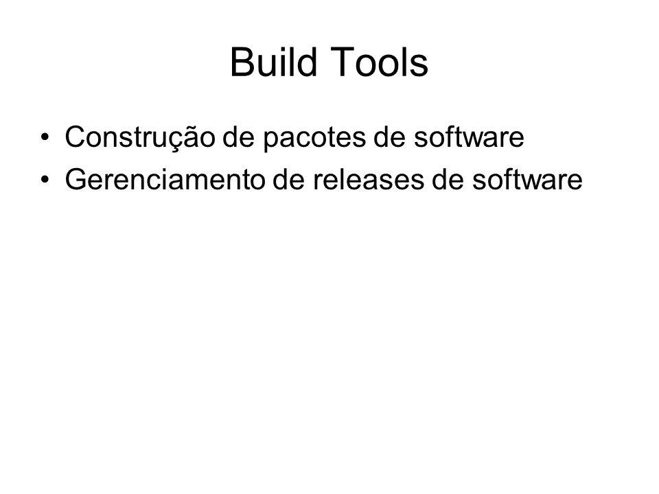 Build Tools Construção de pacotes de software