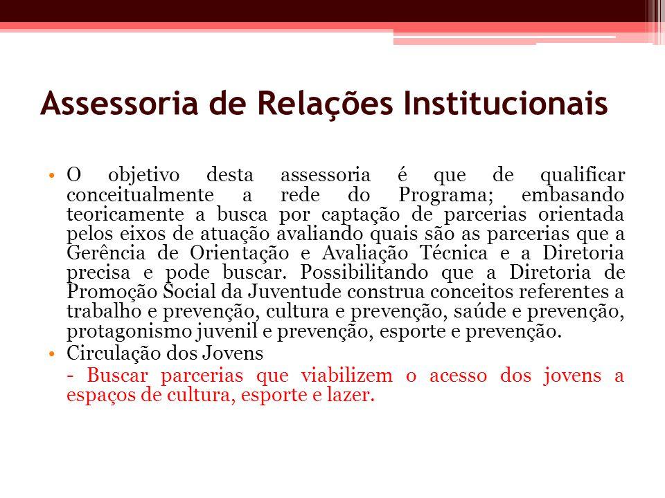 Assessoria de Relações Institucionais
