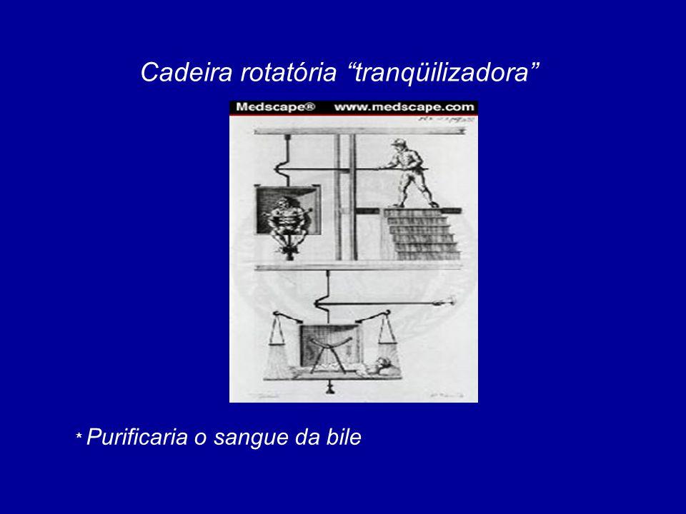 Cadeira rotatória tranqüilizadora