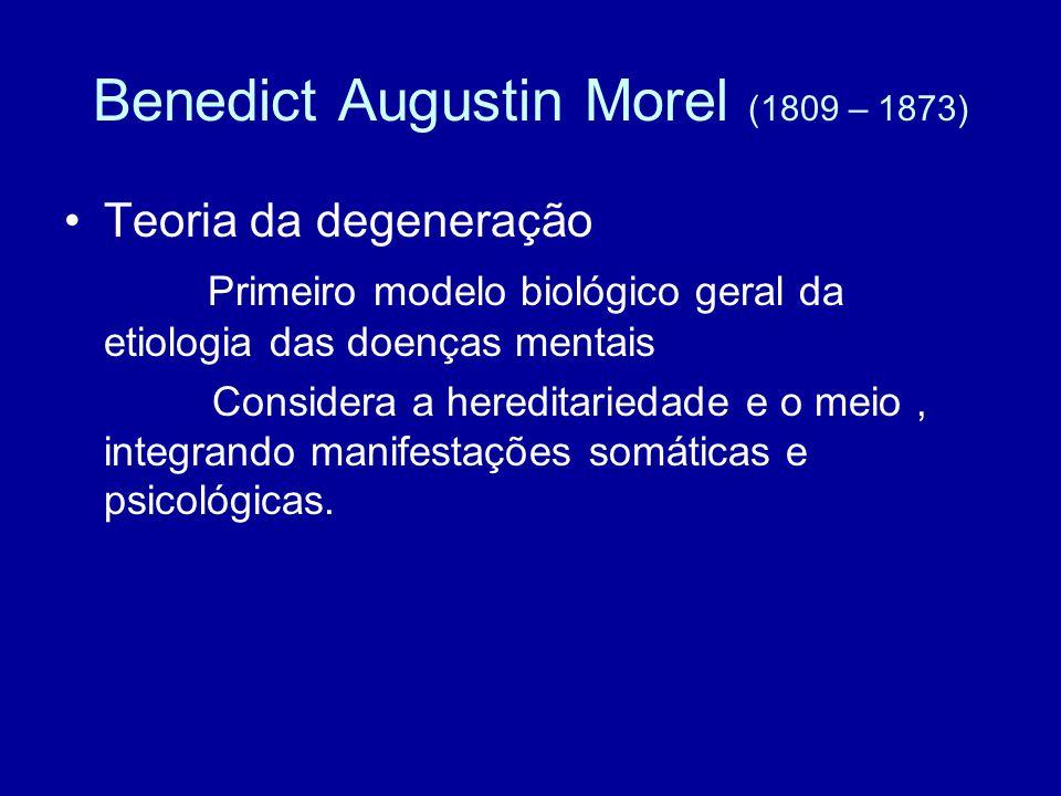 Benedict Augustin Morel (1809 – 1873)
