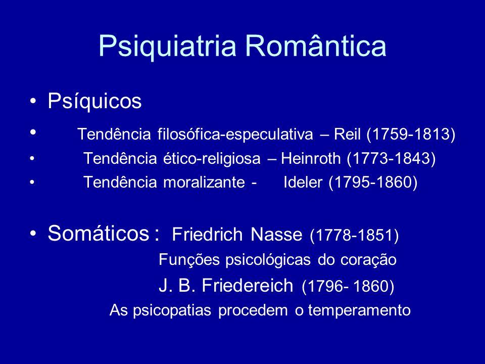 Psiquiatria Romântica