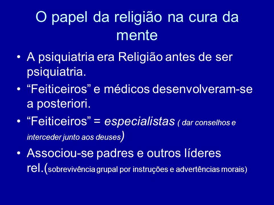 O papel da religião na cura da mente