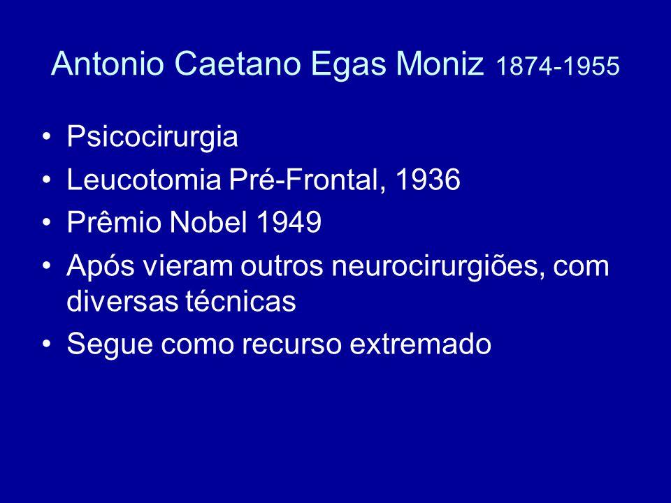 Antonio Caetano Egas Moniz 1874-1955